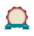 vintage style emblem icon vector image vector image