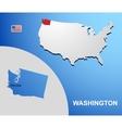 Washington vector image vector image