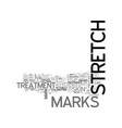 which stretch mark treatment is the best for you vector image vector image
