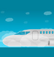 airbus concept banner cartoon style