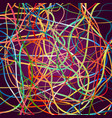 background with moving colorful lines vector image vector image