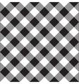 Black white checkerboard check diagonal textile