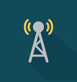 broadcasting icon set of great flat icons with vector image vector image