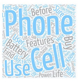 Electronics Tips Cell Phone Facts Every User vector image vector image