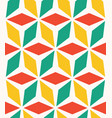 endless pattern with geometric motif decor vector image vector image