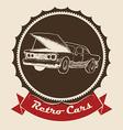 Garage design vector image