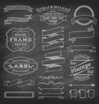 grunge banners and decorations vector image