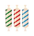 Set of sweets icon in flat style vector image vector image