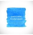 Splash watercolor element vector image vector image