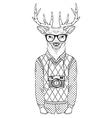 anthropomorphic design vector image vector image