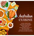 australian cuisine australia food poster