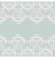 Damask Lace Invitation card with ornaments vector image vector image