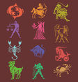 Horoscope Digital Clipart vector image vector image
