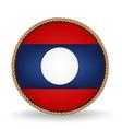 Laos Seal vector image vector image