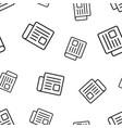 Newspaper news seamless pattern background