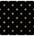 Seamless gold English pattern on a black vector image vector image