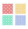 seamless islamic pattern geometric art vector image vector image