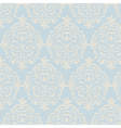 Classic style floral pattern vector image vector image