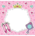 Princess frame vector | Price: 1 Credit (USD $1)