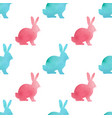 watercolor easter seamless pattern vector image vector image