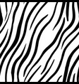 zebra stripes seamless pattern print design vector image