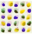 watercolor circles seamless pattern vector image