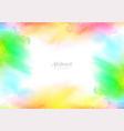 abstract watercolor splash background design vector image vector image