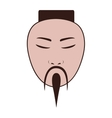 east asian man icon image vector image
