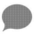 hint halftone icon vector image vector image