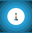 isolated equipment flat icon broom element vector image vector image