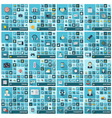 Large icons set vector image vector image