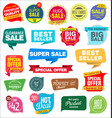 modern labels badges and tags 1 vector image vector image
