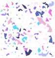 terrazzo seamless pattern background vector image vector image