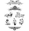 Vintage patterns for design vector image vector image
