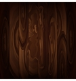 Wood texture brown background vector image