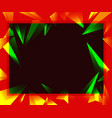 colorful geometrical abstractions irregular vector image
