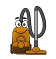 Cute cartoon vacuum cleaner vector image
