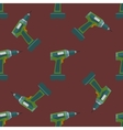 electric screwdriver seamless pattern vector image vector image