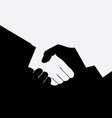 Handshake1 vector image vector image