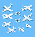 Isometric planes private jet airplanes aircraft