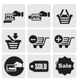 Payment icons vector image vector image