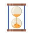 Sand clocks vector image vector image