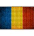 Abstract Mosaic flag of Chad vector image