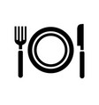black icon on white background vector image vector image