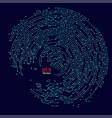 broken electronic vector image vector image