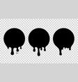 current paint stains current drops current inks vector image