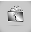 Icon of collection of photos vector image vector image