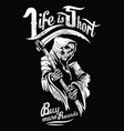 life is short vector image