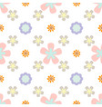 Seamless pattern with flowers summer print floral