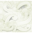 Tangled pattern waves background vector image